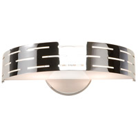 Seattle 2 Light 12 inch Chrome Wall Bracket Wall Light
