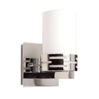 Seattle 1 Light 5 inch Chrome Wall Bracket Wall Light