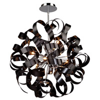 Artcraft Lighting Bel Air 12 Light Pendant in Black AC601BK