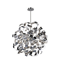 Bel Air 12 Light 24 inch Chrome Pendant Ceiling Light