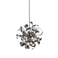 Belair 3 Light 13 inch Brushed Nickel Pendant Ceiling Light
