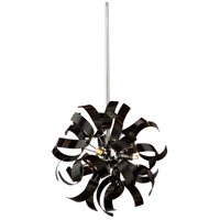 Belair 3 Light 13 inch Black Pendant Ceiling Light