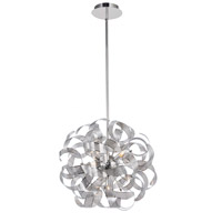 Bel Air 5 Light 18 inch Chrome Chandelier Ceiling Light