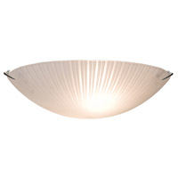 ARTCRAFT Signature 2 Light Flush Mount in Chrome AC6210
