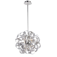 Bel Air 12 Light 24 inch Chrome Chandelier Ceiling Light