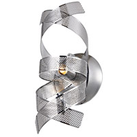 Bel Air 1 Light 5 inch Chrome Wall Bracket Wall Light
