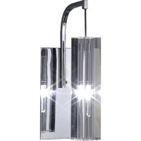 Artcraft Lighting Berkley 1 Light Wall Bracket in Chrome AC679BN