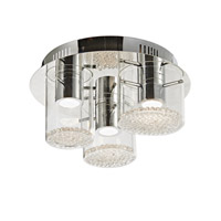 Artcraft Lighting Belmont 3 Light Flush Mount in Chrome AC7010