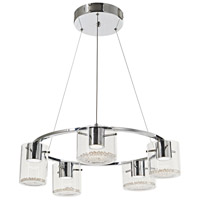 Belmont LED 25 inch Chrome Chandelier Ceiling Light