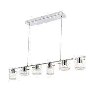 Belmont LED 49 inch Chrome Island Light Ceiling Light