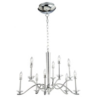 Artcraft Lighting Nassau 10 Light Chandelier in Chrome AC7020