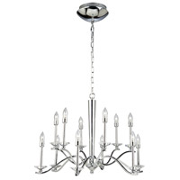 Artcraft Lighting Nassau 12 Light Chandelier in Chrome AC7022