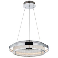 Gemma LED 18 inch Chrome Chandelier Ceiling Light
