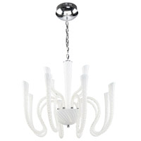 Artcraft Lighting Palazzo 12 Light Chandelier in Chrome AC7058