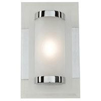 Turin LED 8 inch Chrome Bathroom Vanity Wall Light