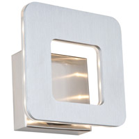Matrix LED 7 inch Brushed Nickel ADA Wall Bracket Wall Light