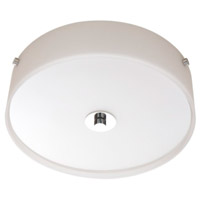 San Deigo 4 Light 16 inch Chrome Flush Mount Ceiling Light