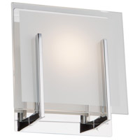 Kingsley LED 5 inch Chrome Wall Bracket Wall Light