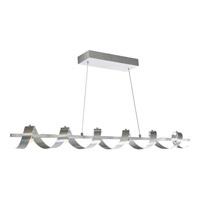 Artcraft AC7212BA Rolling Hills LED 47 inch Brushed Aluminum Island Light Ceiling Light