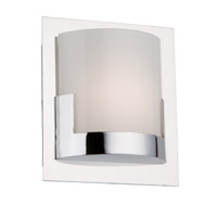 Artcraft AC7221CH Rialto LED 6 inch Chrome Vanity Wall Light