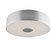 Fantasia LED 10 inch Brushed Aluminum Flush Mount Ceiling Light