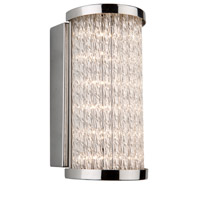 Waterfall LED 8 inch Chrome Wall Bracket Wall Light