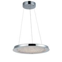 Stardust LED 16 inch Chrome Chandelier Ceiling Light
