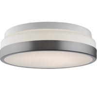 Artcraft AC7361 Signature LED 12 inch Brushed Nickel Flush Mount Ceiling Light