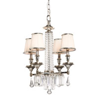 Artcraft Lighting Newcastle 4 Light Chandelette in Antique Pewter Finish AC744