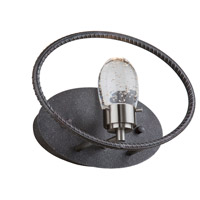 Kingsford LED 12 inch Slate and Brushed Nickel Wall Sconce Wall Light