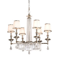 Artcraft Lighting Newcastle 6 Light Chandelier in Antique Pewter Finish AC747 photo thumbnail