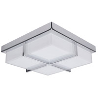 Tranquility LED 10 inch Chrome Flush Mount Ceiling Light