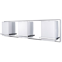 Artcraft AC7493 Tranquility LED 20 inch Chrome Bathroom Vanity Wall Light