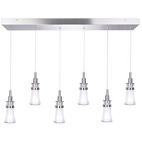 Destiny LED 31 inch Polished Nickel Island Light Ceiling Light