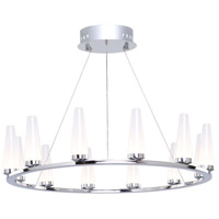 Briar LED 25 inch Chrome Chandelier Ceiling Light