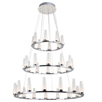 Chrome Briar Chandeliers