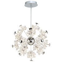 Blossom LED 22 inch Chrome Chandelier Ceiling Light