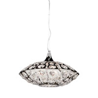 Cheddington 3 Light 15 inch Chrome Single Pendant Ceiling Light