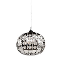 Artcraft Lighting Cheddington 3 Light Single Pendant in Chrome AC791