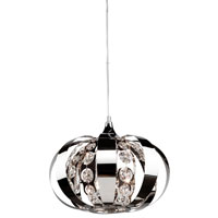Artcraft Lighting Cheddington 3 Light Single Pendant in Chrome AC792