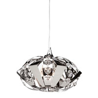Artcraft Lighting Cheddington 3 Light Single Pendant in Chrome AC793