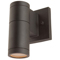 Nuevo 1 Light 7 inch Black Outdoor Wall Light