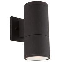 Nuevo 1 Light 10 inch Black Outdoor Wall Light
