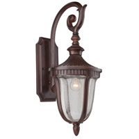 Artcraft Lighting Palermo 1 Light Outdoor Wall in Mahogany AC8021MA