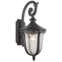 ARTCRAFT Palermo 1 Light Outdoor Wall Mount in Graphite AC8022GR