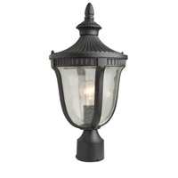 Artcraft Lighting Palermo 1 Light Outdoor Post Head in Graphite AC8023GR