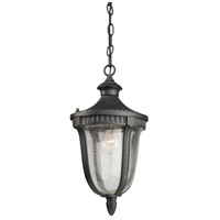 Artcraft Lighting Palermo 1 Light Outdoor Pendant in Graphite AC8025GR