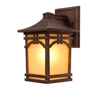 Artcraft Lighting Courtyard 1 Light Outdoor Wall in Oil Rubbed Bronze AC8051OB