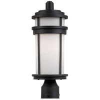 ARTCRAFT Columbia 1 Light Post Lantern in Black AC8083BK