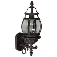 Classico 1 Light 20 inch Rust Outdoor Wall Lantern